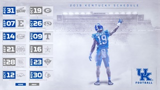 A Game-By-Game Look at Kentucky's 2019 Football Schedule