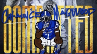 Yahtzee! 2021 WR Chauncey Magwood Commits to Kentucky