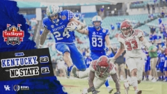 Kentucky Tops NC State in Gator Bowl