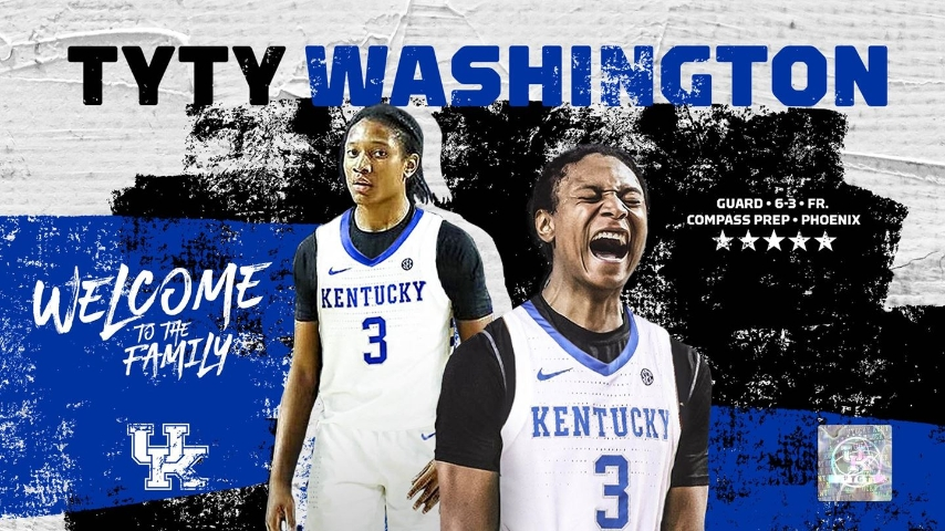 Kentucky Has a Point Guard! TyTy Washington Commits to the Cats